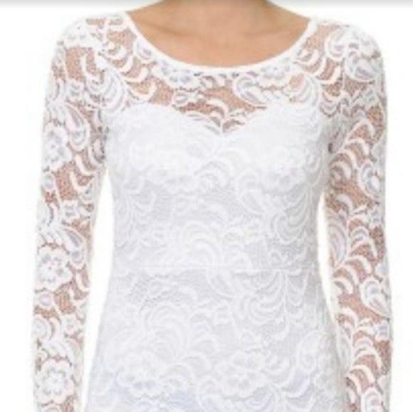 Ambiance Dresses & Skirts - Ambiance Apparel Lace Dress